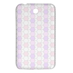 Allover Graphic Soft Pink Samsung Galaxy Tab 3 (7 ) P3200 Hardshell Case  by ImpressiveMoments