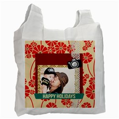 Family By Family   Recycle Bag (two Side)   B09vnm9twujp   Www Artscow Com Front