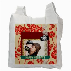 Family By Family   Recycle Bag (two Side)   B09vnm9twujp   Www Artscow Com Back