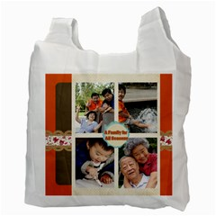 Family By Family   Recycle Bag (two Side)   Voxrwtla18y1   Www Artscow Com Back