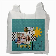 Family By Family   Recycle Bag (two Side)   16114vqpgt87   Www Artscow Com Back