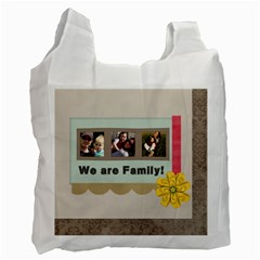 Family By Family   Recycle Bag (two Side)   G75cpw9ncpgt   Www Artscow Com Front