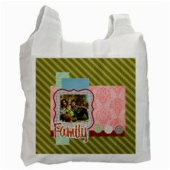 Family By Family   Recycle Bag (two Side)   Ky1kqltn7606   Www Artscow Com Front