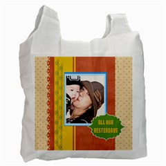 Family By Family   Recycle Bag (two Side)   5fxh96b24ji7   Www Artscow Com Front