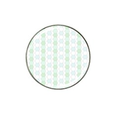 Allover Graphic Soft Aqua Golf Ball Marker 4 Pack (for Hat Clip)