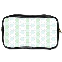 Allover Graphic Soft Aqua Travel Toiletry Bag (two Sides) by ImpressiveMoments