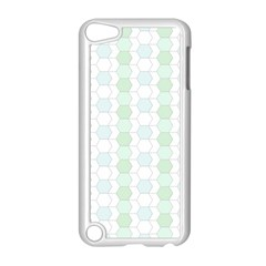 Allover Graphic Soft Aqua Apple Ipod Touch 5 Case (white) by ImpressiveMoments