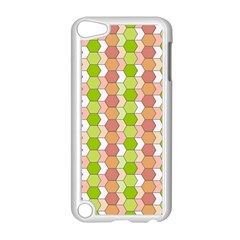 Allover Graphic Red Green Apple Ipod Touch 5 Case (white)