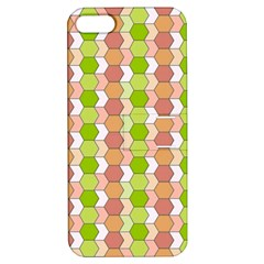Allover Graphic Red Green Apple iPhone 5 Hardshell Case with Stand by ImpressiveMoments