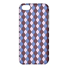 Allover Graphic Blue Brown Apple Iphone 5c Hardshell Case by ImpressiveMoments