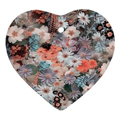 Spring Flowers Heart Ornament by ImpressiveMoments