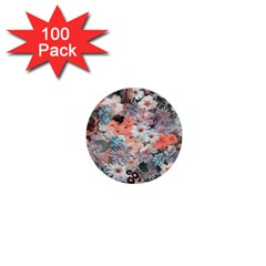 Spring Flowers 1  Mini Button (100 Pack) by ImpressiveMoments