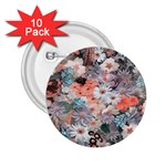Spring Flowers 2.25  Button (10 pack)