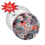Spring Flowers 2.25  Button (100 pack)