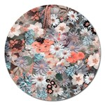 Spring Flowers Magnet 5  (Round)