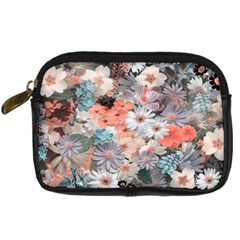 Spring Flowers Digital Camera Leather Case by ImpressiveMoments