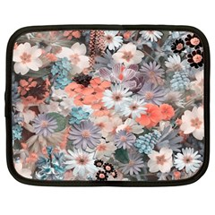 Spring Flowers Netbook Sleeve (xl) by ImpressiveMoments
