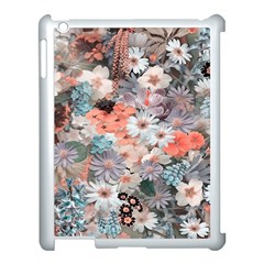 Spring Flowers Apple Ipad 3/4 Case (white) by ImpressiveMoments