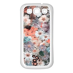 Spring Flowers Samsung Galaxy S3 Back Case (white) by ImpressiveMoments