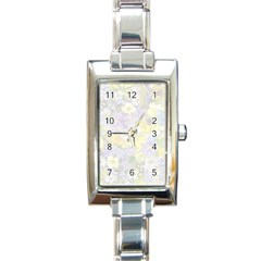 Spring Flowers Soft Rectangular Italian Charm Watch by ImpressiveMoments