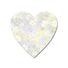 Spring Flowers Soft Magnet (heart) by ImpressiveMoments