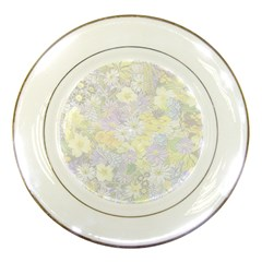 Spring Flowers Soft Porcelain Display Plate by ImpressiveMoments