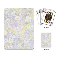 Spring Flowers Soft Playing Cards Single Design by ImpressiveMoments
