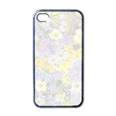Spring Flowers Soft Apple Iphone 4 Case (black) by ImpressiveMoments