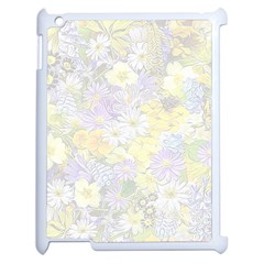 Spring Flowers Soft Apple Ipad 2 Case (white) by ImpressiveMoments
