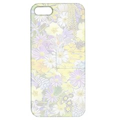 Spring Flowers Soft Apple Iphone 5 Hardshell Case With Stand by ImpressiveMoments