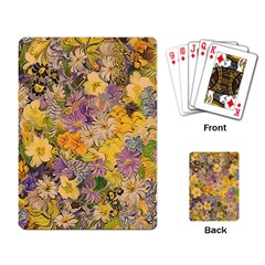 Spring Flowers Effect Playing Cards Single Design by ImpressiveMoments