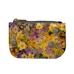Spring Flowers Effect Coin Change Purse by ImpressiveMoments