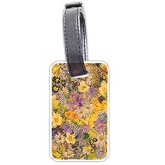 Spring Flowers Effect Luggage Tag (two Sides) by ImpressiveMoments