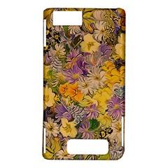 Spring Flowers Effect Motorola Droid X / X2 Hardshell Case