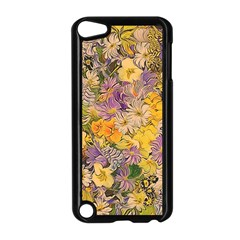 Spring Flowers Effect Apple Ipod Touch 5 Case (black) by ImpressiveMoments