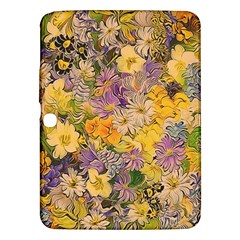 Spring Flowers Effect Samsung Galaxy Tab 3 (10 1 ) P5200 Hardshell Case  by ImpressiveMoments