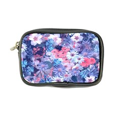 Spring Flowers Blue Coin Purse by ImpressiveMoments