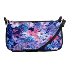 Spring Flowers Blue Evening Bag by ImpressiveMoments