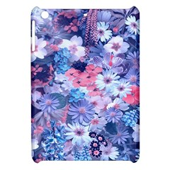 Spring Flowers Blue Apple Ipad Mini Hardshell Case by ImpressiveMoments