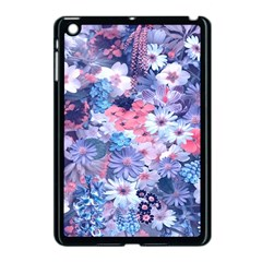 Spring Flowers Blue Apple Ipad Mini Case (black) by ImpressiveMoments