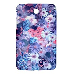 Spring Flowers Blue Samsung Galaxy Tab 3 (7 ) P3200 Hardshell Case  by ImpressiveMoments