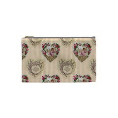 Vintage Valentine Cosmetic Bag (Small) by EndlessVintage