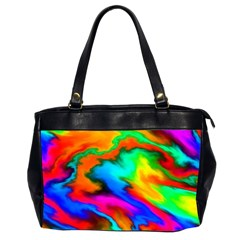 Crazy Effects  Oversize Office Handbag (two Sides) by ImpressiveMoments