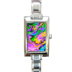 Crazy Effects  Rectangular Italian Charm Watch by ImpressiveMoments