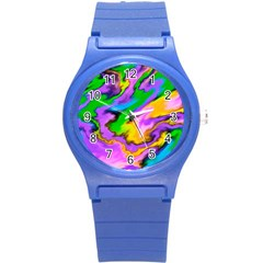 Crazy Effects  Plastic Sport Watch (small) by ImpressiveMoments
