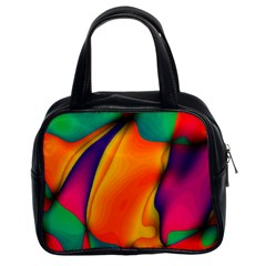 Crazy Effects  Classic Handbag (two Sides) by ImpressiveMoments
