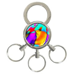 Crazy Effects 3 Ring Key Chain by ImpressiveMoments