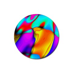 Crazy Effects Drink Coaster (round) by ImpressiveMoments