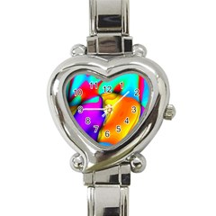 Crazy Effects Heart Italian Charm Watch  by ImpressiveMoments
