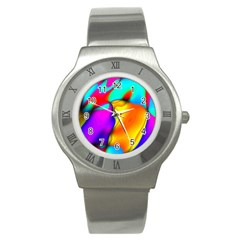 Crazy Effects Stainless Steel Watch (slim) by ImpressiveMoments